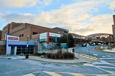 Halifax Infirmary (QEII) - Robie Street Entrance