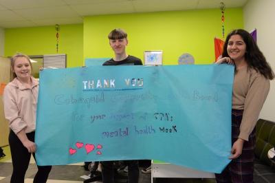 Mental health week organizers at CPA