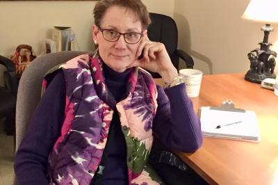 Joyce Morouney is a crisis response coordinator at Yarmouth Regional Hospital.