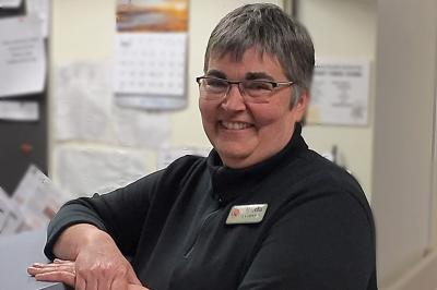 Palliative care consult nurse Martha Ferguson.