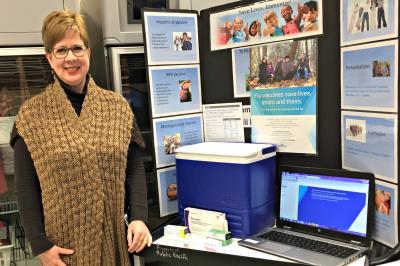 Nancy Fitzgerald is a Public Health nurse in NSHA's Northern Zone.